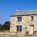 Traditional Cornish Cottage near completion